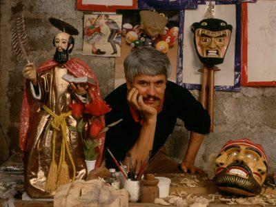 Lino Mora Rivera, Máscaras